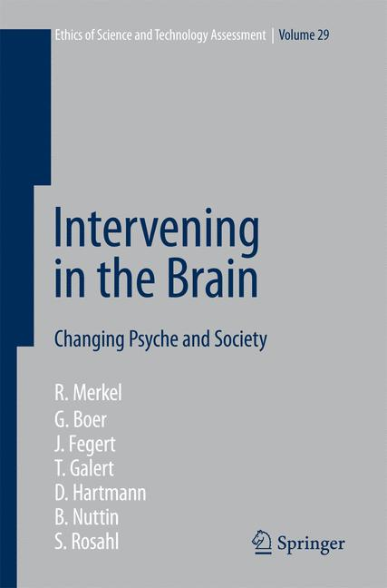 Cover of 'Intervening in the Brain'
