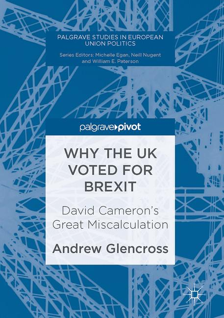 Cover of 'Why the UK Voted for Brexit'