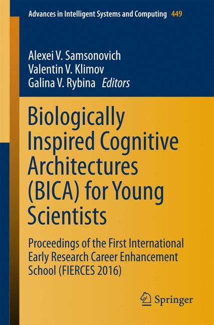 Cover of 'Biologically Inspired Cognitive Architectures (BICA) for Young Scientists'