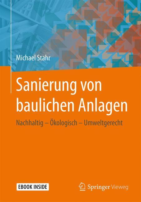 Cover of 'Sanierung von baulichen Anlagen'