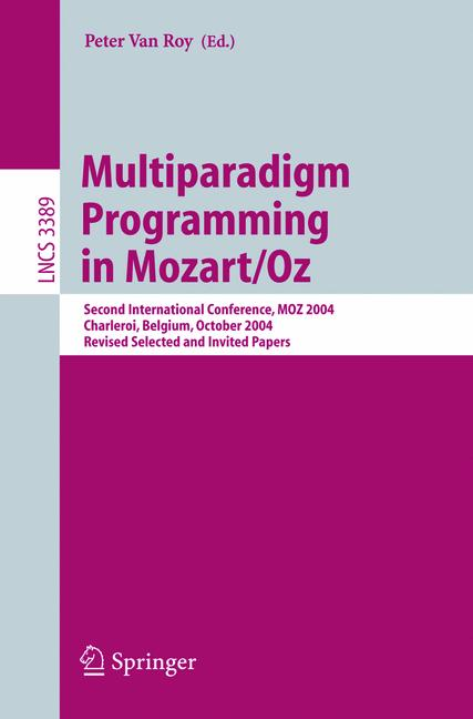 Cover of 'Multiparadigm Programming in Mozart/Oz'