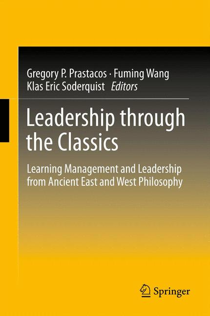 Cover of 'Leadership through the Classics'