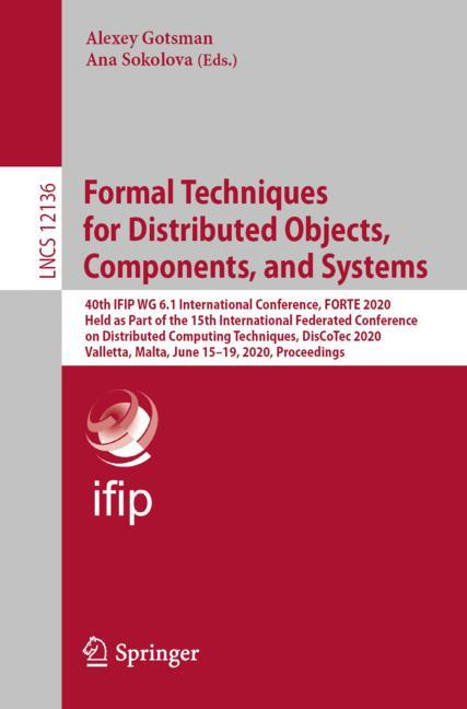 Cover of 'Formal Techniques for Distributed Objects, Components, and Systems'