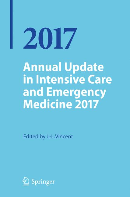 Cover of 'Annual Update in Intensive Care and Emergency Medicine 2017'
