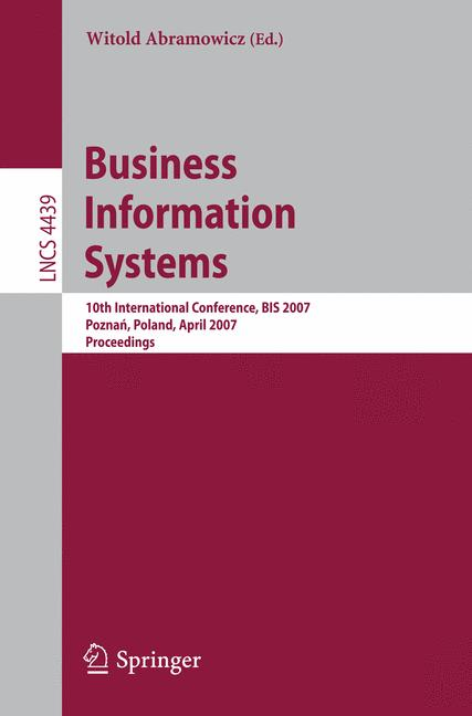 Cover of 'Business Information Systems'