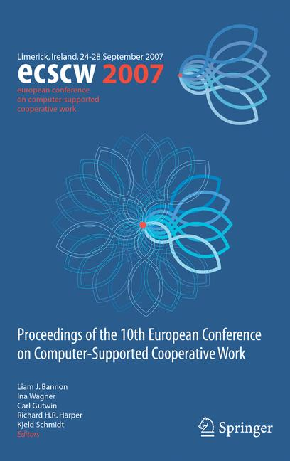 Cover of 'ECSCW 2007'