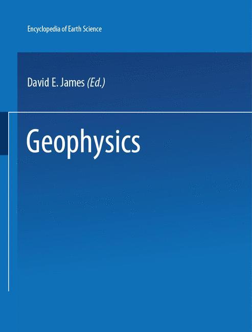 Cover of 'Geophysics'