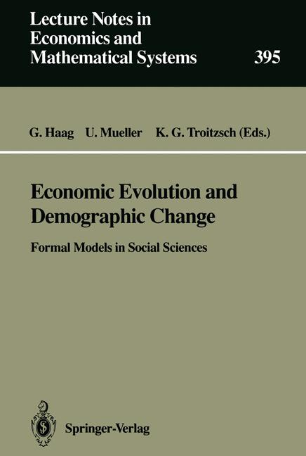 Cover of 'Economic Evolution and Demographic Change'