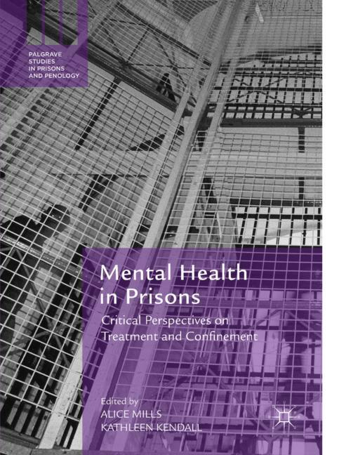 Cover of 'Mental Health in Prisons'