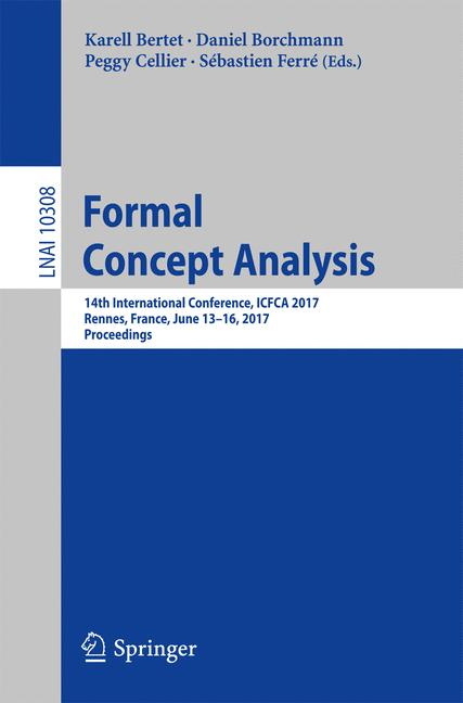 Cover of 'Formal Concept Analysis'