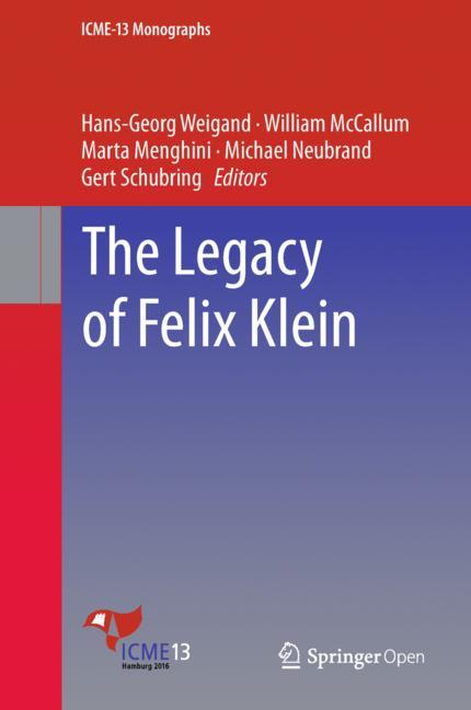 Cover of 'The Legacy of Felix Klein'