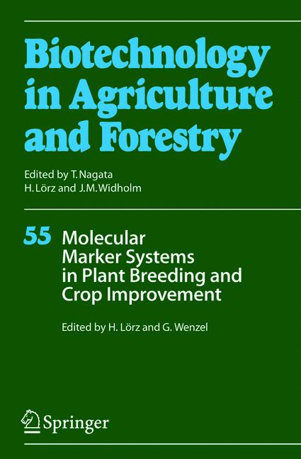 Cover of 'Molecular Marker Systems in Plant Breeding and Crop Improvement'