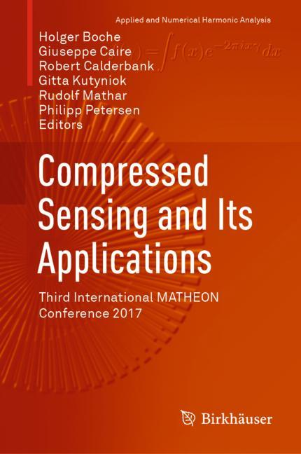 Cover of 'Compressed Sensing and Its Applications'