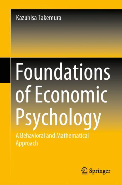 Cover of 'Foundations of Economic Psychology'