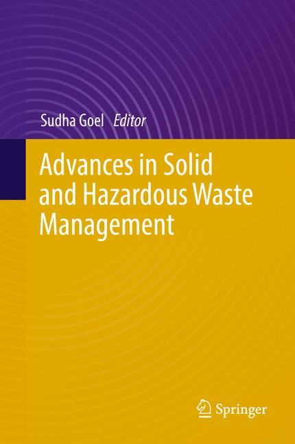 Cover of 'Advances in Solid and Hazardous Waste Management'
