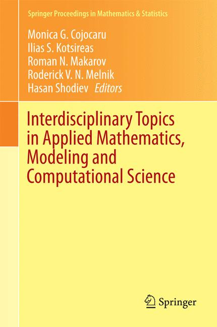 Cover of 'Interdisciplinary Topics in Applied Mathematics, Modeling and Computational Science'