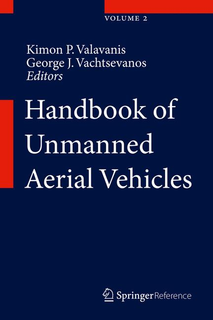 Cover of 'Handbook of Unmanned Aerial Vehicles'