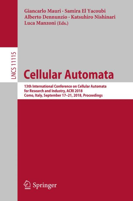 Cover of 'Cellular Automata'