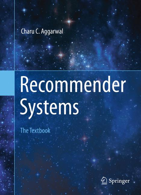 Cover of 'Recommender Systems'