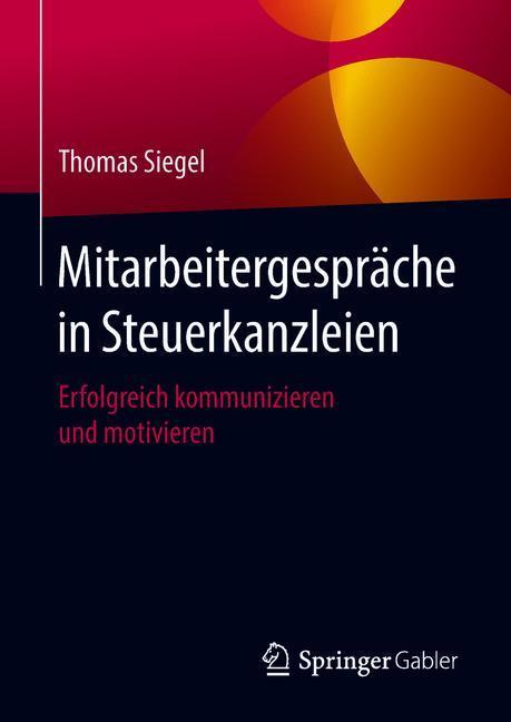 Cover of 'Mitarbeitergespräche in Steuerkanzleien'