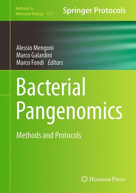 Cover of 'Bacterial Pangenomics'