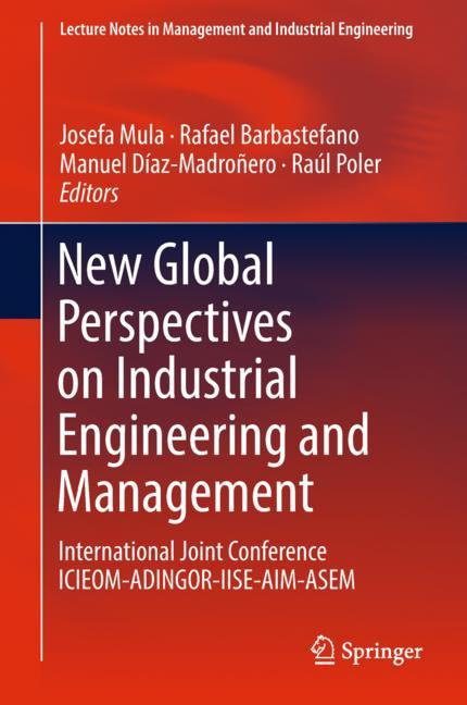 Cover of 'New Global Perspectives on Industrial Engineering and Management'