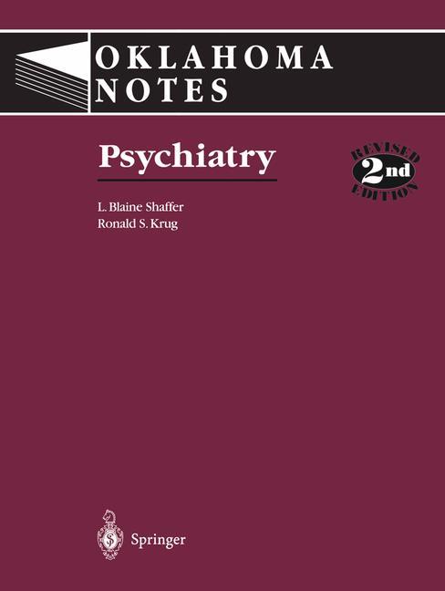 Cover of 'Psychiatry'