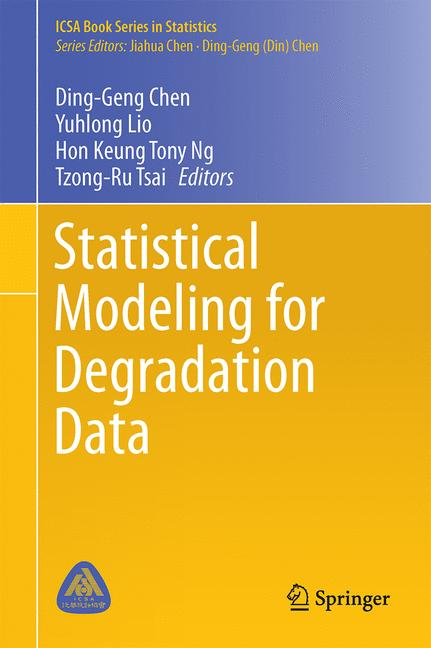 Cover of 'Statistical Modeling for Degradation Data'