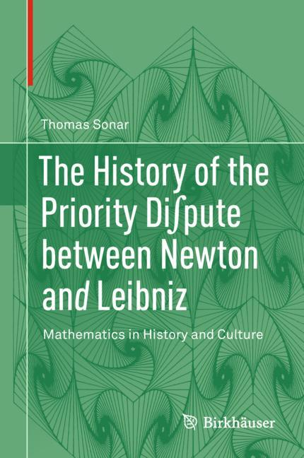 Cover of 'The History of the Priority Di∫pute between Newton and Leibniz'