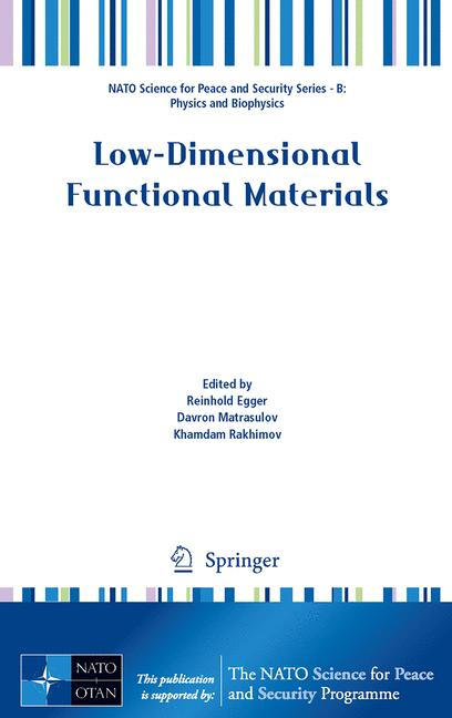 Cover of 'Low-Dimensional Functional Materials'