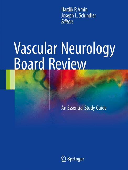 Cover of 'Vascular Neurology Board Review'