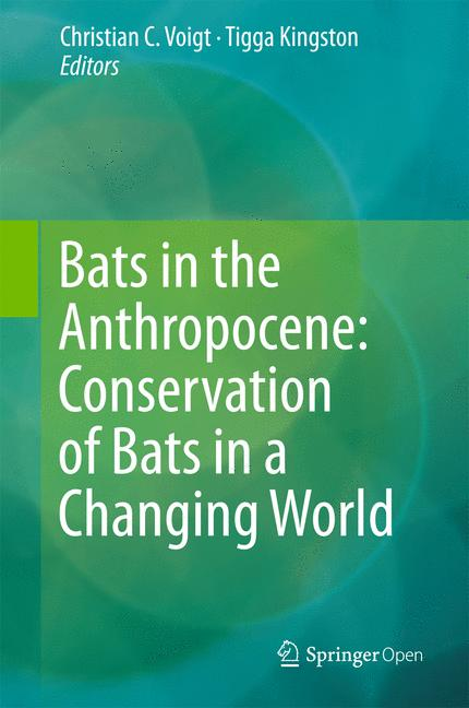 Cover of 'Bats in the Anthropocene: Conservation of Bats in a Changing World'