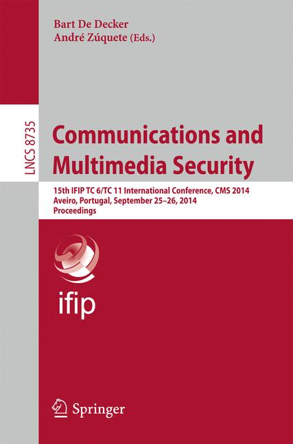 Cover of 'Communications and Multimedia Security'