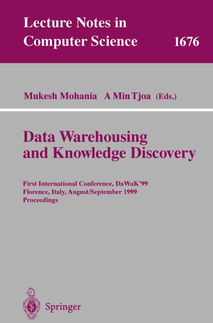 Cover of 'DataWarehousing and Knowledge Discovery'