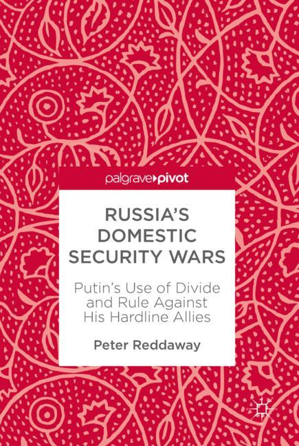 Cover of 'Russia's Domestic Security Wars'