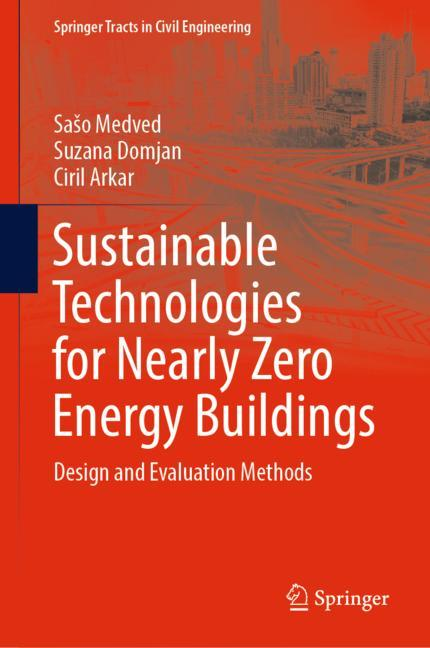 Cover of 'Sustainable Technologies for Nearly Zero Energy Buildings'