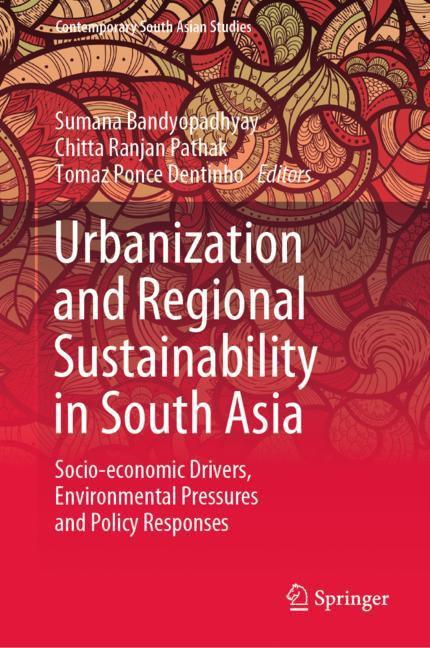 Cover of 'Urbanization and Regional Sustainability in South Asia'