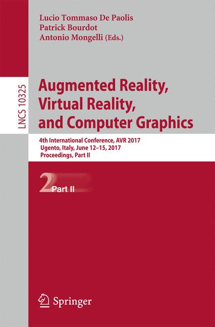 Cover of 'Augmented Reality, Virtual Reality, and Computer Graphics'