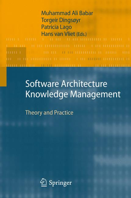 Cover of 'Software Architecture Knowledge Management'
