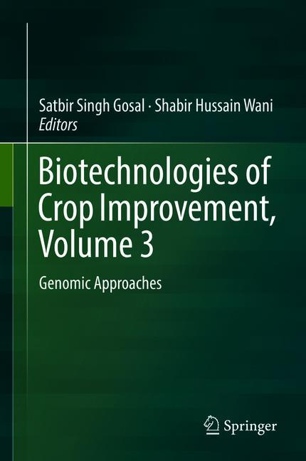 Cover of 'Biotechnologies of Crop Improvement, Volume 3'