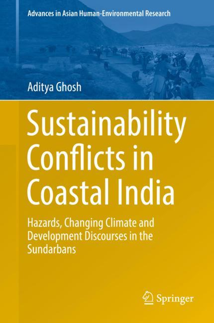 Cover of 'Sustainability Conflicts in Coastal India'