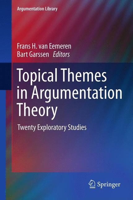 Cover of 'Topical Themes in Argumentation Theory'