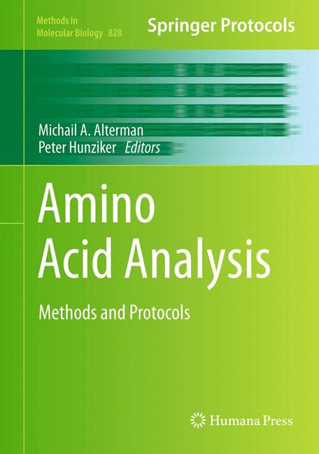 Cover of 'Amino Acid Analysis'