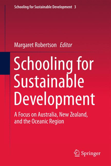 Cover of 'Schooling for Sustainable Development:'