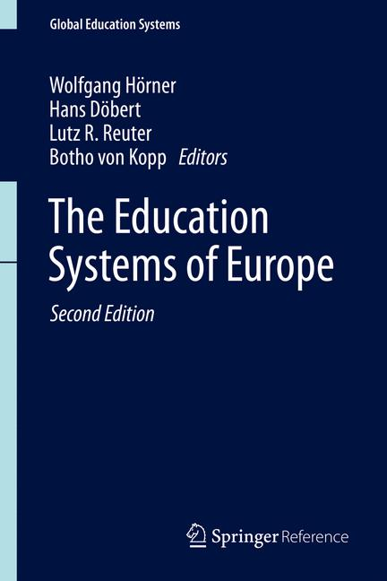 Cover of 'The Education Systems of Europe'