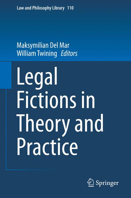 Cover of 'Legal Fictions in Theory and Practice'