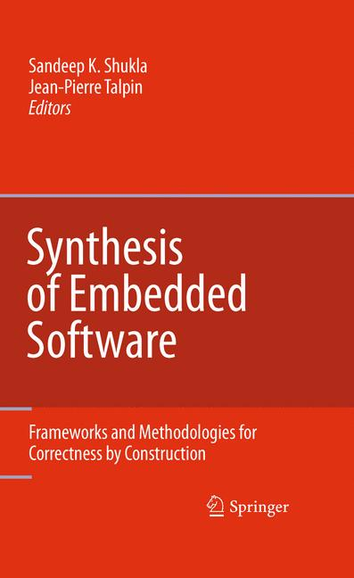 Cover of 'Synthesis of Embedded Software'