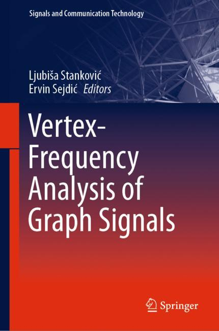 Cover of 'Vertex-Frequency Analysis of Graph Signals'