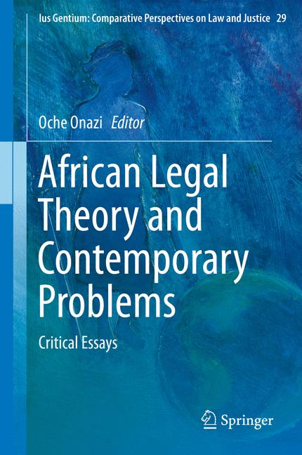 Cover of 'African Legal Theory and Contemporary Problems'