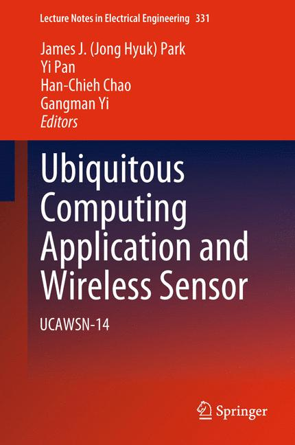 Cover of 'Ubiquitous Computing Application and Wireless Sensor'